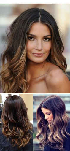 I asked my stylist to make me look like Lily Aldridge or Kate Beckinsale. :) She did her best with what she had to work with!