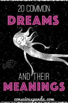 Below are 20 common dream symbols and their meanings. The next time you have a vivid dream, make sure to write down every detail and compare them against. What Dreams Mean, How To Remember Dreams, Weird Dreams, Dream Interpretation Symbols, Dream Psychology, Psychology Facts, Understanding Dreams, Recurring Dreams, Dream Symbols