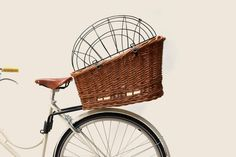 Dog bike basket with link! Up to 33lbs. This is a NEED not just a WANT ;)