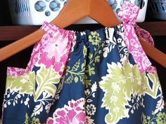 Girl Clothing  Pillowcase Dress  Girl Dress  by ButterflyBabyPlace, $30.00
