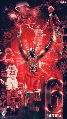 Michael Jordan | Celebrates 6th Championship (6-0) Finals Perfection