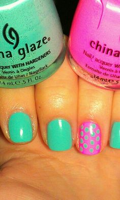 For Audrey and Shocking Pink (Neon) by China Glaze