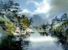 Pine River by Nita Engle