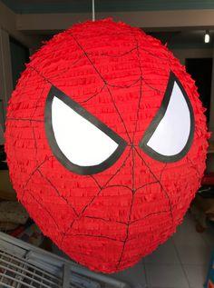 Birthday Pinata, Birthday Diy, Spiderman, Pokemon Party, Deco Table, Baby Party, Diy Face Mask, Venom, Birthday Celebration
