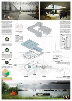 YAC's Space to Culture winners propose ideas for a new cultural community hub in Bologna, Italy // Collective East (Tudor Costachescu, Mihaela Radescu, Horia Tasca, Alexandre Motora)
