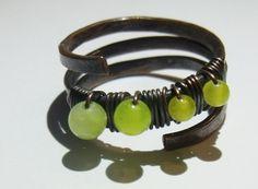 Mój pierwszy pierścionek-obrączka, w roli głównej jadeity