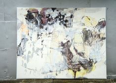 Kagami no uragawa ( revised ) (2010) Oil on canvas, ink, pigment, charcoal 1868x1500x60mm | Flickr - Photo Sharing!