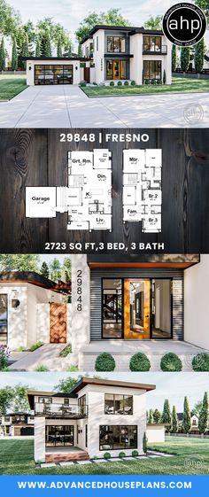 Edgy Modern Home – Anna-Lena Japanese Modern House, Small Modern Home, Modern Living, Modern Architecture House, Modern House Design, Bamboo Architecture, Watercolor Architecture, Architecture Panel, Minimalist Architecture