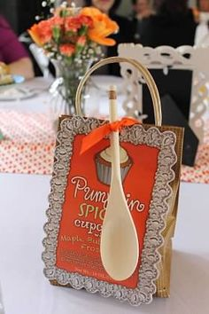 bridal shower game prizes cupcake baking gift sets in pumpkin spice red velvet and