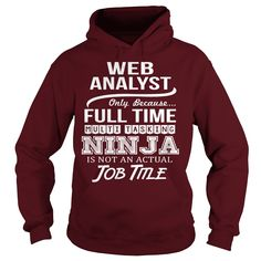 Awesome Tee For Web Analyst Hoodie