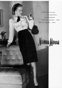 Neiman Marcus 1944.