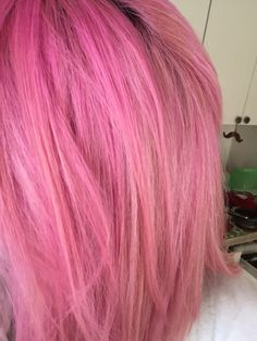 Cotton Candy Manic Panic Hair!
