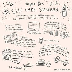 self care routine * self care . self care quotes . self care routine . self care products . self care aesthetic . self care tips . self care checklist . self care bullet journal Motivacional Quotes, Care Quotes, Self Care Activities, Creative Activities, Self Care Routine, Happy Sunday, Sunday Love, Sunday Special, Journal Inspiration