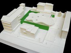 Maranello Library. Location: Maranello, Italy; firm: Andrea Maffei Architects; design team: Arata Isozaki, M+T & Partners; photos: Courtesy of Andrea Maffei Architects; year: 2011