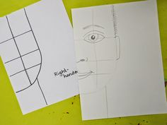 Cassie Stephens: In the Art Room: Beautiful Oops Self-Portraits with Third Grade