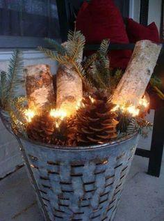 Porch Fire Pot