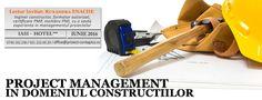 Curs - Project Management in Domeniul Constructiilor Project Management, Calendar, Projects, Blue Prints, Menu Calendar, Tile Projects