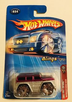 2005 Hot Wheels 034 Blings First Editions Mercedes-Benz G500 Bling | Toys & Hobbies, Diecast & Toy Vehicles, Cars, Trucks & Vans | eBay!