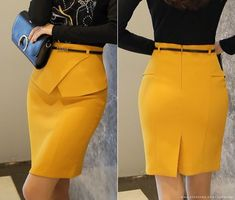 Romantic & Trendy Looks, Styleonme Skirt Outfits, Dress Skirt, Cute Fashion, Fashion Outfits, Classy Work Outfits, Latest African Fashion Dresses, Work Attire, European Fashion, Rock