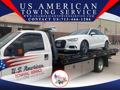 US American Towing Service Wrecker Service, Flatbed Towing, Towing Company, Tow Truck, Houston Tx