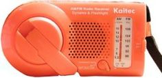 Kaito Emergency Am/fm Radio with Flashlight, KA006 by Kaito. $14.95. The KA006 is small size dynamo Radio with flashlight. A must for any emergency situation, this reliable hand crank radio includes AM, FM and flashlight.  Keep one in your home and car emergency kit