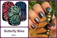 #ButterflyBlissJN Shop at https://jamminmomma79.jamberry.com/ #angiesjammies #manicure #naildesign #nailart #nailwraps #nails #diy