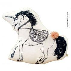 Unicorn Cushion by Atsuyo et Akiko. #kids #nursery #decor