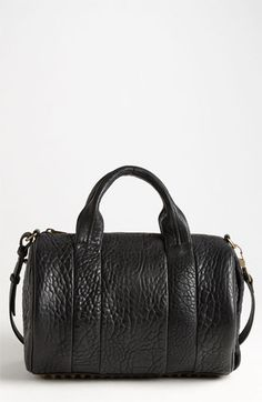 Alexander Wang 'Rocco' Leather Satchel- I love love love this bag. I wouldnt care the color...except white