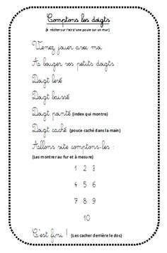 Comptons les doigts Music Doodle, Music Studio Room, French Songs, Kids Poems, Preschool Music, French Class, Teaching French, Music Notes, Good Music