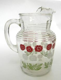 Pitcher~ Grandma used one like this every day full of Kool aide