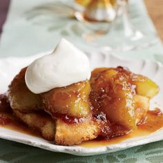 In this quick version of Skillet Apple Charlotte, apple wedges are sautéed withwith honey and maple syrup, topped with buttered toast and turned out of the pan like a tarte Tatin.