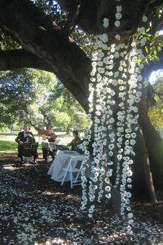 Enchanted spring wedding inspiration.