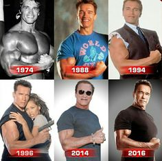 Arnold Schwarzenegger- shows there's no excuses for being out of shape at any age Arnold Motivation, Fitness Motivation, Fitness Gym, Tips Fitness, Physical Fitness, Fitness Life, Fitness Products, Motivation Sportive, Movie Posters