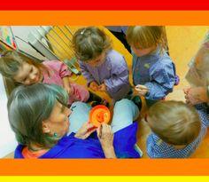 Atelier di pittura per mamma e bambino di 3-4 anni
