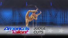 Sofie Dossi: Brilliant Performance Earns Her the Golden Buzzer - America's Got Talent  / 7-13-2016