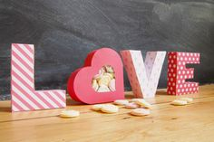 Free Valentine's Treat Boxes Printable by Little House On The Corner