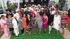 Wilmington (DE) Chapter members at the 2017 Juleps and Jazz Derby day fundraiser.