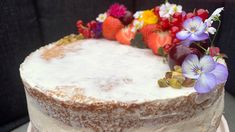 Kremet ostekake Gelatin, Vanilla Cake, Oreo, Camembert Cheese, Food And Drink, Dairy, Baking, Desserts, Recipes