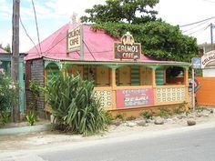 One of my favorite restaurant. St Maarten - Grand Case Calmos Cafe