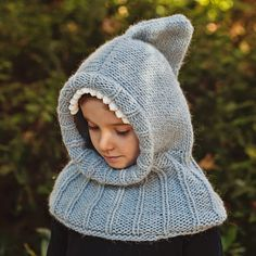 Ravelry: Knitted Shark Hooded Cowl pattern by Mon Petit Violon