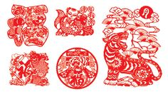 paper cut Chinese New Year
