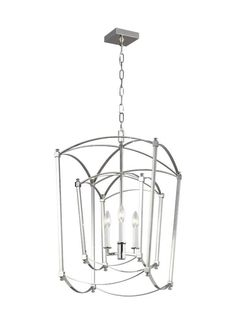 Feiss Thayer Polished Nickel Modern/Contemporary Chandelier at Lowe's. The Feiss Thayer three light single tier chandelier in polished nickel supplies ample lighting for your daily needs, while adding a layer of today's style Lantern Chandelier, Candelabra, Lanterns, Light Bulb Bases, Contemporary Chandelier, Modern Contemporary, Chandeliers, Frosted Glass, Chandelier