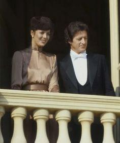 Caroline di Monaco e Philippe Junot