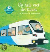 Op reis met de trein – informatief prentenboek dat antwoord geeft op de vragen van jonge kinderen.