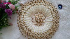 Loom Knitting Projects, Baby Knitting Patterns, Crochet Flowers, Crochet Lace, Crop Top Pattern, Diwali Craft, Laddu Gopal, Crochet Crop Top, Crochet Tablecloth