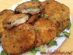 I cordon bleu di melanzane farciti con prosciutto e formaggio sono una deliziosa alternativa al classico cordon bleu di pollo o di carne.