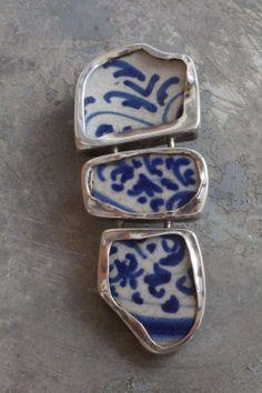 Mirta Carroli,Italy: pottery shards