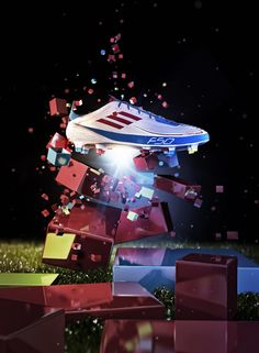 CGI SHOES by Mike Campau, via Behance