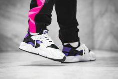 "big sale 175d8 04f54 An On-Feet Look at the Nike Air Huarache  91 ""Purple Punch"""