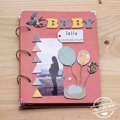 Esta semana tenemos un post muy especial: Cómo hacer un álbum de embarazo scrapbooking #scrapbooking #albumembarazo #albumscrapbooking #blog #bobunny #babybump